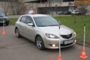 обучение вождению на Mazda 3