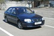 обучение вождению на Hyundai Accent