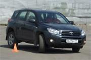 обучение вождению на Toyota RAV4