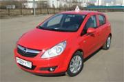 обучение вождению на Opel Corsa