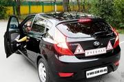 обучение вождению на Hyundai Solaris